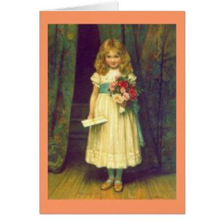 Victorian Happy Birthday card