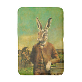 Victorian Hare Bath Mat