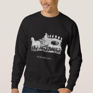 Victorian Hearse Pull Over Sweatshirt