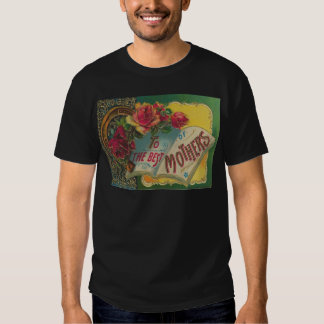Victorian Horseshoe Mother's Day Card Shirt