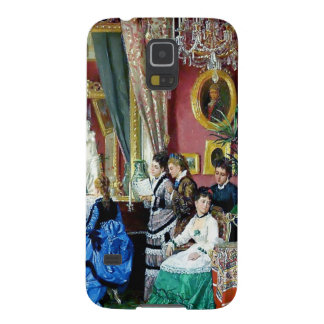 Victorian House Party Women Men Music painting Samsung Galaxy Nexus Cases