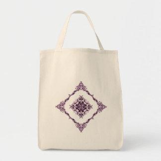 Victorian Inspired Purple Fractal Diamond Bags
