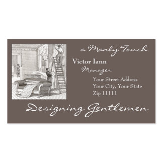 Victorian Interiors for Designer Decorator Pack Of Standard Business Cards
