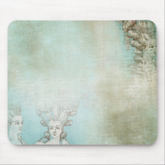 Victorian Ladies Hair Style Collage Mouse Pads