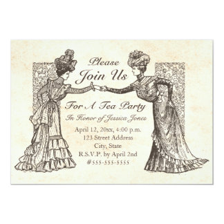Victorian Ladies Invitation