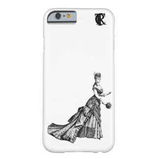 Victorian Lady 1880s iPhone case