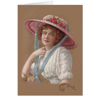 Victorian Lady General Purpose Greeting Card