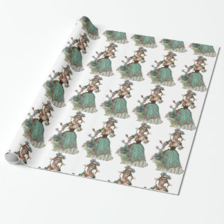 Victorian Lady Wrapping Paper