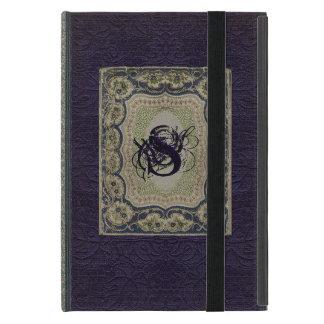 Victorian Monogram Book Design Cover For iPad Mini