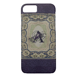 Victorian Monogram Book Design iPhone 8/7 Case