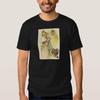 Victorian Mother & Daughter Mother's Day Card T Shirt