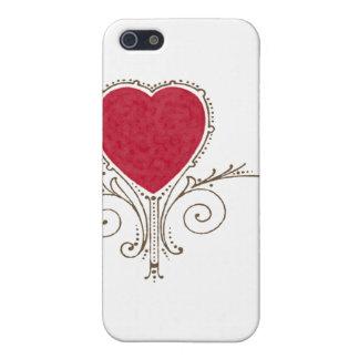 Victorian Nouveau Valentine Heart iPhone 5/5S Cases