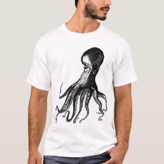 Victorian Octopus Kraken for Steampunk Pirates T-Shirt