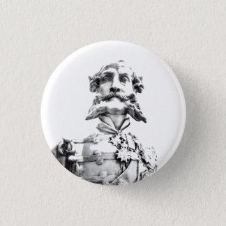 Victorian officer badge 1 inch round button