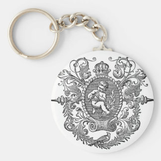 victorian ornamental Cherub Schlüsselanhänger
