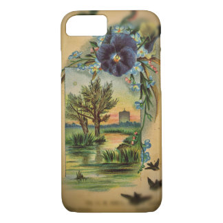 Victorian Pansy Pastoral iPhone 7 Case