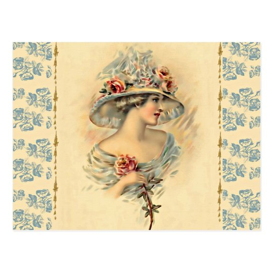 Victorian Parlour_Mary Postcard