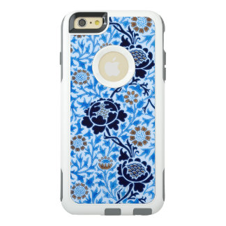 Victorian Pattern In Blue OtterBox iPhone 6/6s Plus Case