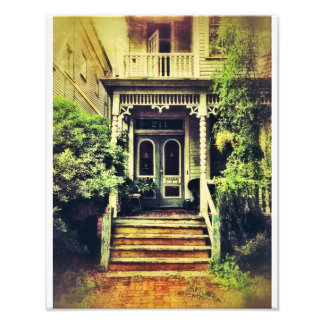 Victorian Porch, Savannah Art Photo