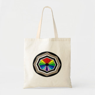 Victorian Rainbow Window Tote Bag