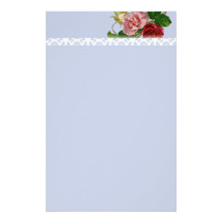 Victorian Rose and Pattern Stationery