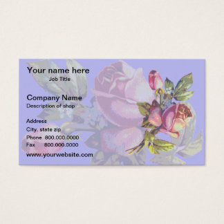 Victorian Rose Business Card