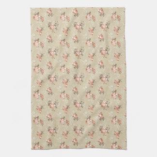 Victorian Rose Pattern Kitchen Towel