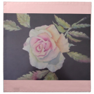 VICTORIAN ROSE TEA PARTY PRINTED NAPKIN