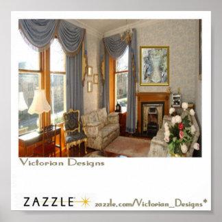 Victorian Sample of Art Poster