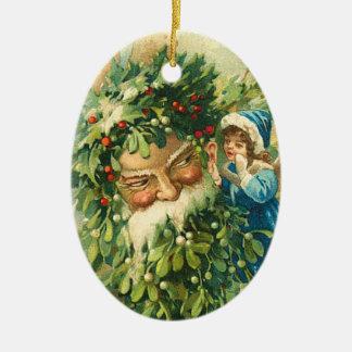 Victorian Santa Claus Ornament