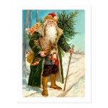 Victorian Santa Claus Post Card