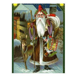 Victorian Santa Claus Postcard