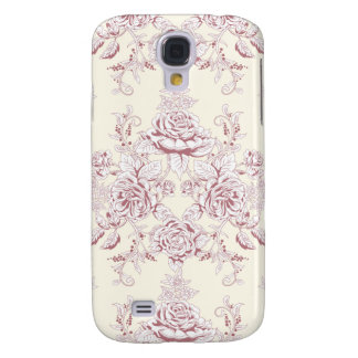 Victorian,soft yellow, soft pink,floral,pattern,vi