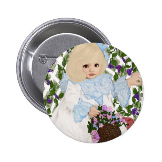Victorian Spring Pinback Buttons