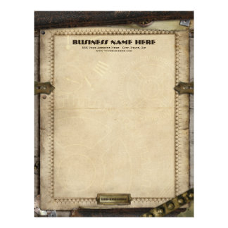 Victorian Steampunk Business Letterhead
