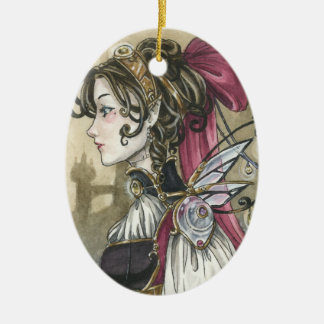 Victorian Steampunk Fairy ornament