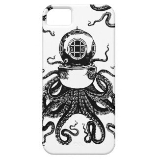 victorian Steampunk Octopus Kraken Diving Helmet! Case For The iPhone 5