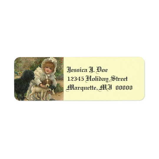 Victorian Stray Pet Rescue Return address Label