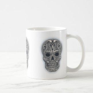 Victorian Sugar Skull Coffee Mug