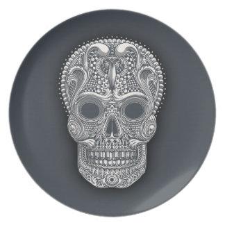 Victorian Sugar Skull Plate