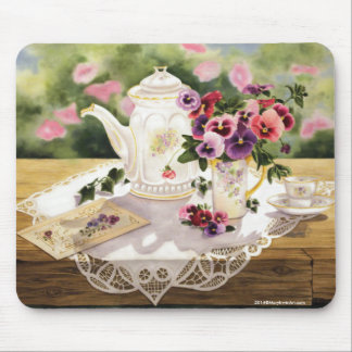 """Victorian Tea"" ~ Mouse Pad"