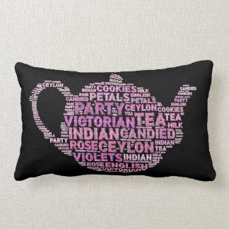 """Victorian tea Polyester  Lumbar Pillow 13"""" x 21"""""""