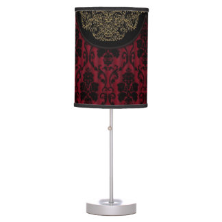 Victorian texture table lamp