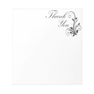 Victorian Thank You Notepad