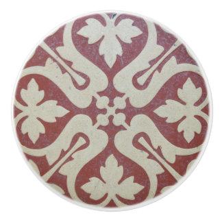 Victorian Tile Ceramic Knob