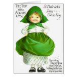 Victorian Top Of The Mornin St. Patrick's Day Card