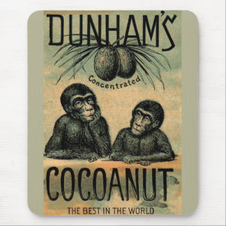 Victorian trade card: Dunham's Cocoanut Mouse Pad