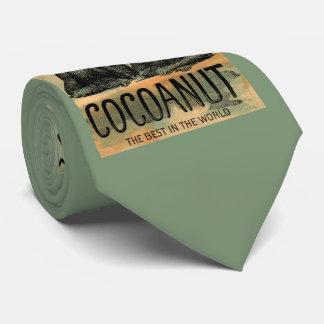 Victorian trade card: Dunham's Cocoanut print Tie