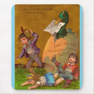 Victorian trade card: Edmund G. Burt fine shoes Mouse Pad