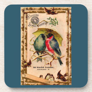 Victorian trade card Standard Sewing Machine Co. Coaster